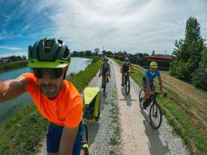 percorso semplice da fare in bici con tutta la famiglia al mare