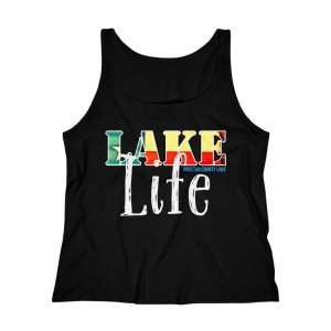 Houston County Lake Texas Lake Life Women's Relaxed Jersey Tank Top