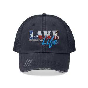 Houston County Lake Texas Lake Life Trucker Hat