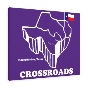 Crossroads Canvas Gallery Wraps white outline