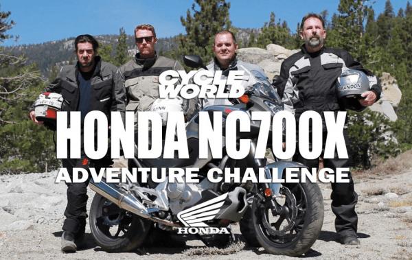Cycle World NC700X Adventure Challenge