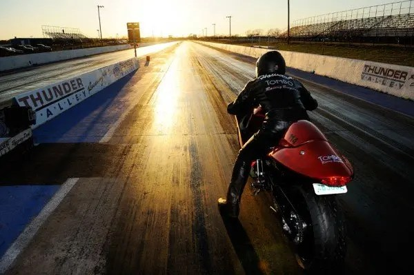 Tim Howard on a Tombo Racing Hayabusa