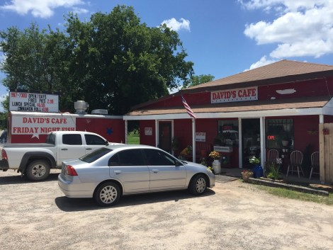 David's Cafe in Earlsboro is a great place to stop and grab lunch.