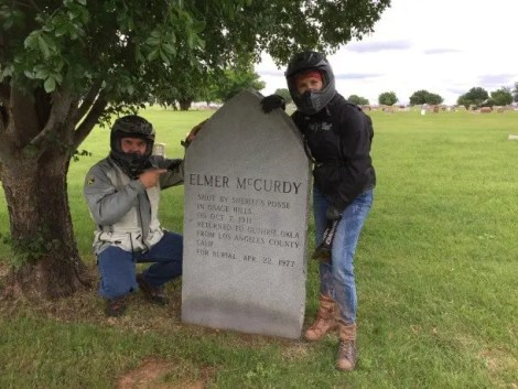 "Elmer McCurdy was killed near in the Osage Hills of Oklahoma and became ""famous"" well after his death."