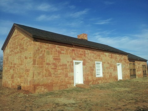 "Typical stage station on the Butterfield Overland Mail route. This one is in Fort Chadbourne. ""Fort Chadbourne Stage Station"" by Pi3.124 - Own work. Licensed under CC BY-SA 3.0 via Commons - https://commons.wikimedia.org/wiki/File:Fort_Chadbourne_Stage_Station.jpg#/media/File:Fort_Chadbourne_Stage_Station.jpg"""