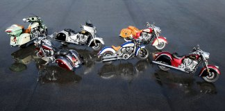 2017 Indian Motorcycles lineup