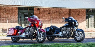 2017 Indian Chieftain Elite and Limited