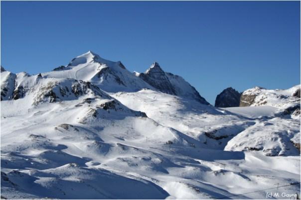 Panorama vers la Grande Motte (Tignes)