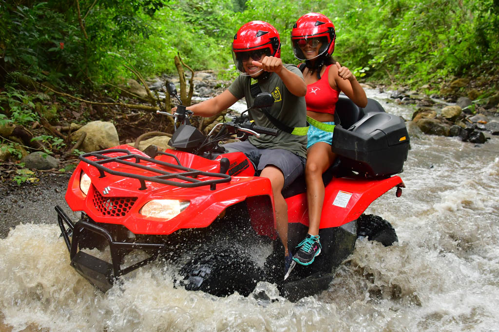 Riders river crossing