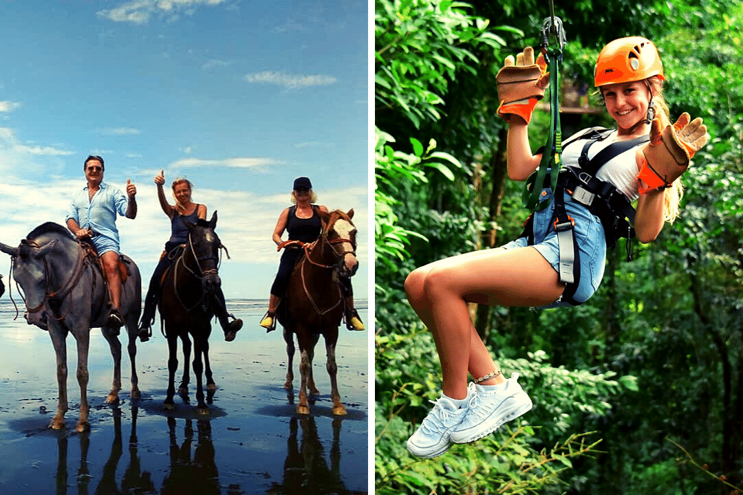 Horseback Riding and Zipline