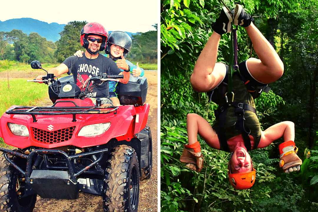 ATV and Zipline