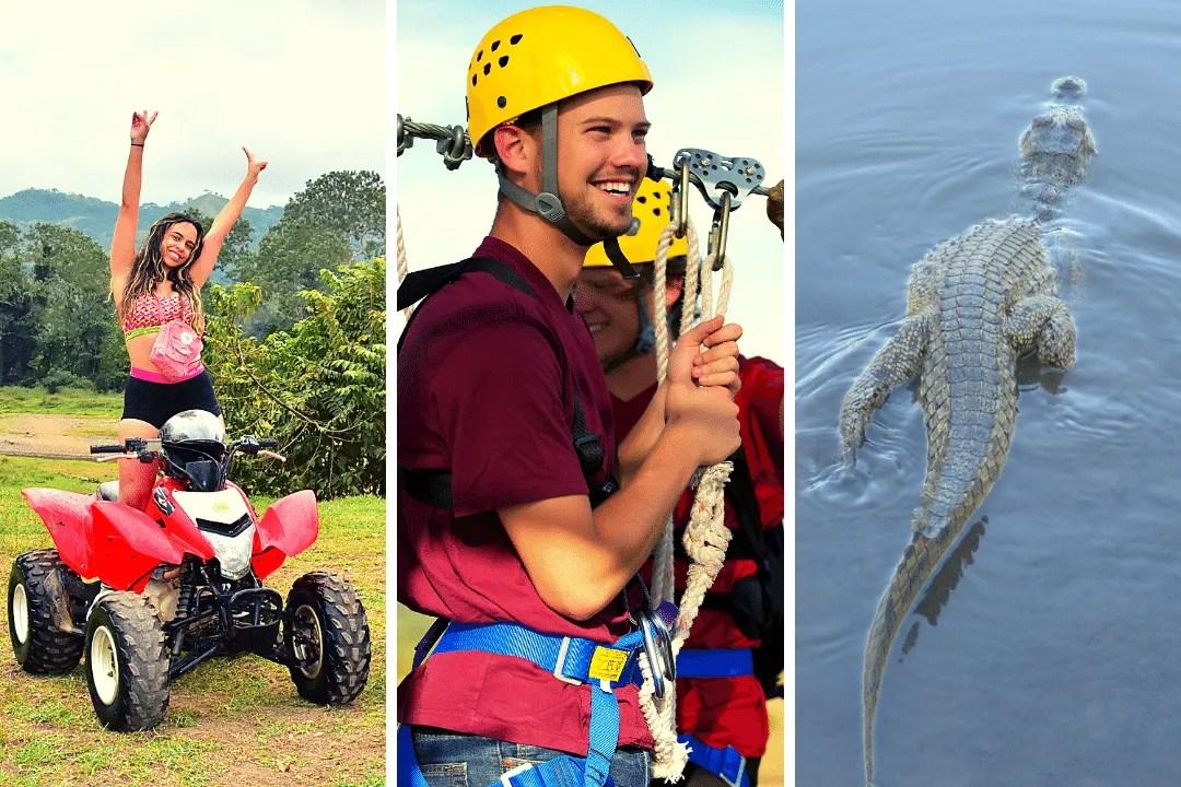 Zipline + ATV + Crocodiles