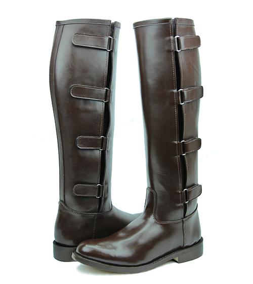 Hispar Spirit Ladies Women Tall Knee High Leather