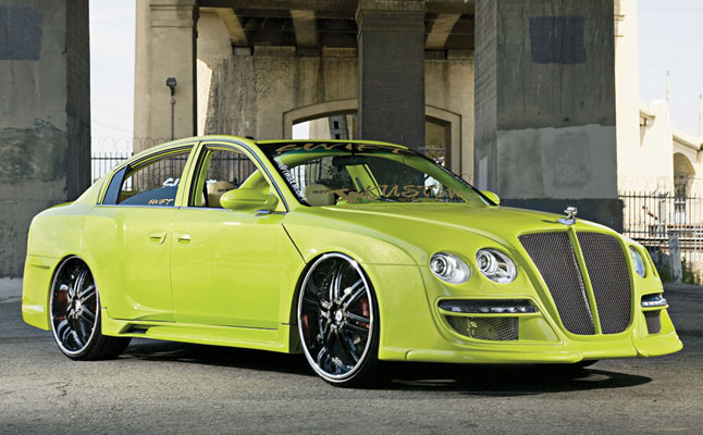 rides, cars, nissan, altima, bentley, continental, gt, conversion, green, cali, california, raul, banda