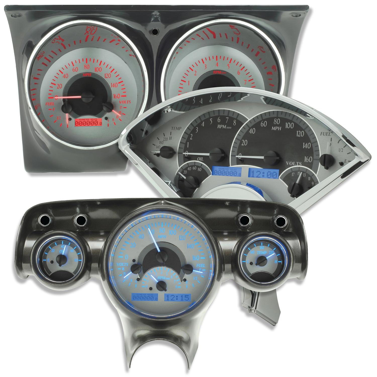 rides, gauges, dakota, digital