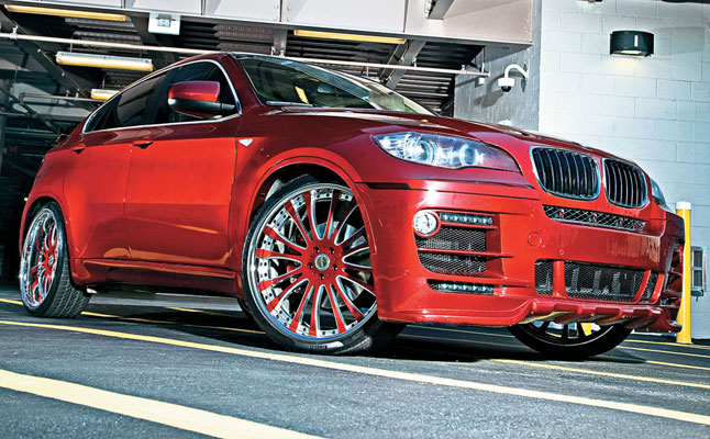 rides cars mc&a customs bmw x6 edwin encarnacion toronto blue jays