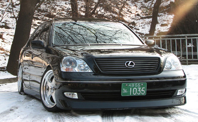 rides cars 2005 lexus LS430 VIP South Korea