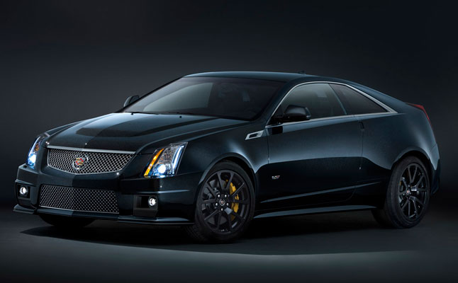 2011 Cadillac CTS-V Black Diamond Edition rides cars