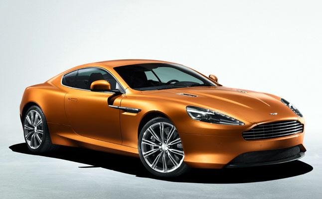 rides cars Aston Martin Virage
