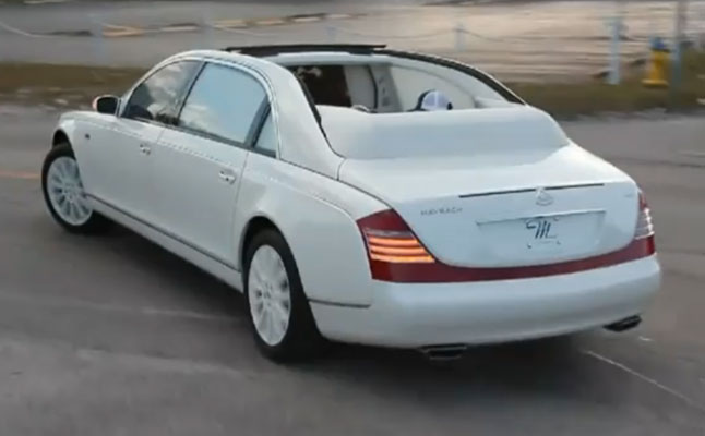 rides cars Maybach-Laudaulet-rear-birdman