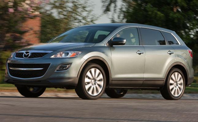 rides cars Mazda CX-9 2011