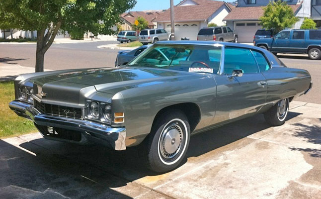 rides cars 1972-chevy-caprice-donk chevrolet
