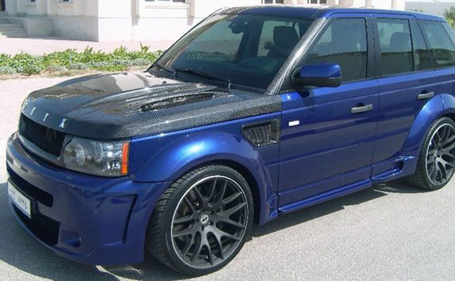 rides cars range rover sport onyx blue