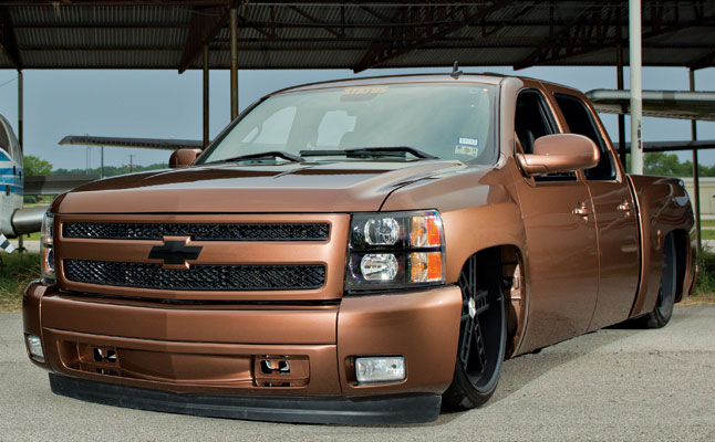 rides cars trucks chevrolet-silverado-brown-texas-rides