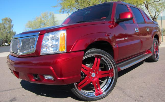 Cadillac, Escalade, EXT, Custom, Rides