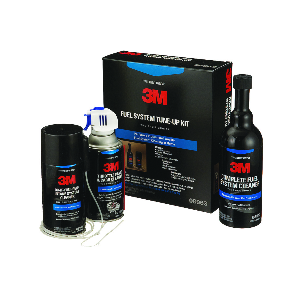 rides cars 3M Fuel System Tune-Up Kit cleaning