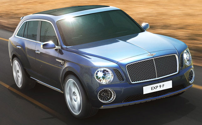 rides cars bentley exp 9 f suv sport-utility truck whip ride