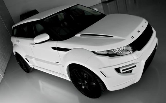 #range rover evoque onyx