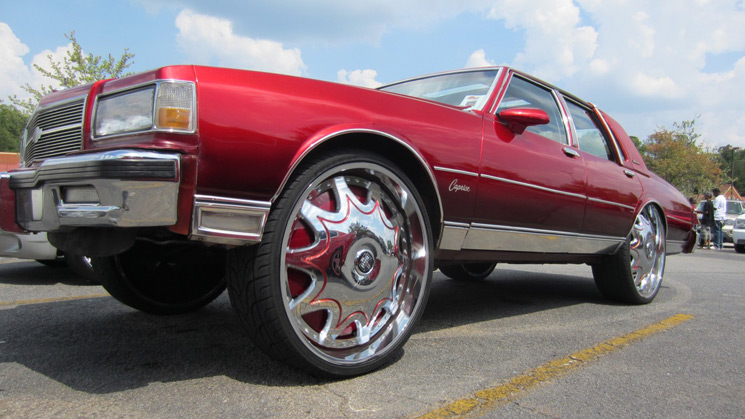 Rides, Chevrolet, Chevy, Caprice, 1987, Box, Squat, DUB