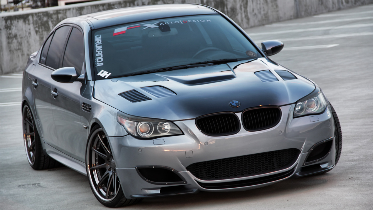 bmw m5 nutek forged rides