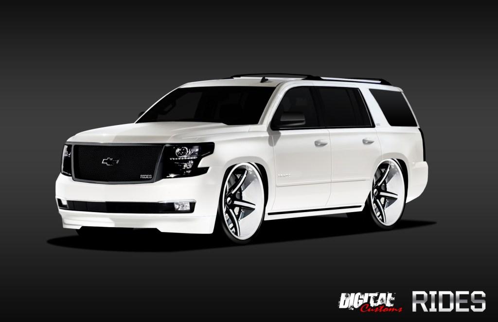 RIDES Creates A Custom 2015 Chevrolet Tahoe