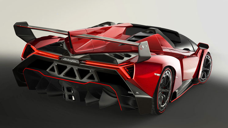 rides lambo lamborghini veneno roadster 50th anniversary birthday droptop convertible