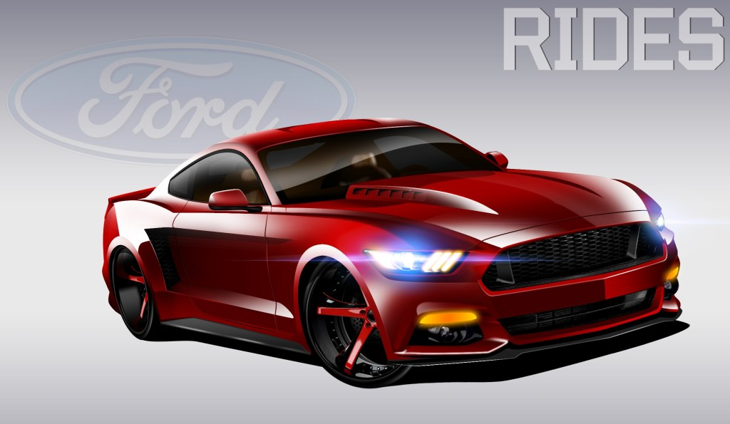 2015+mustang+widebody+concept+rendering