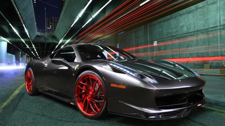 Ferrari-458-Italia-Savini-Wheels-Savini-Forged-SV62-Brushed-Red-PSM-2