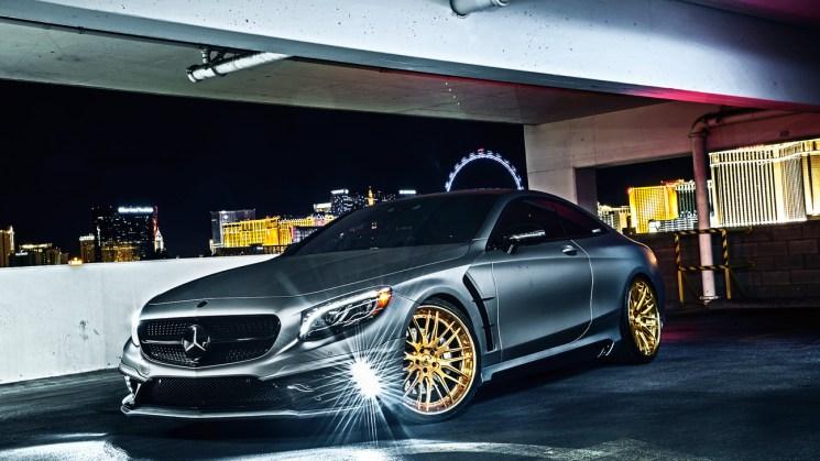 Savini-Black-di-Forza-Forged-BM13-L-Brushed-Gold-Mercedes-S550-Coupe-13