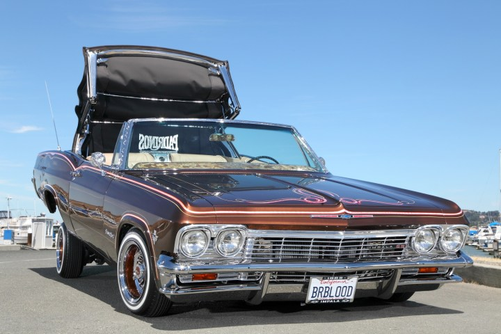 1965 chevrolet impala ss convertible lowrider rides magazine. Black Bedroom Furniture Sets. Home Design Ideas