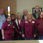 Robinson Employees with State Rep