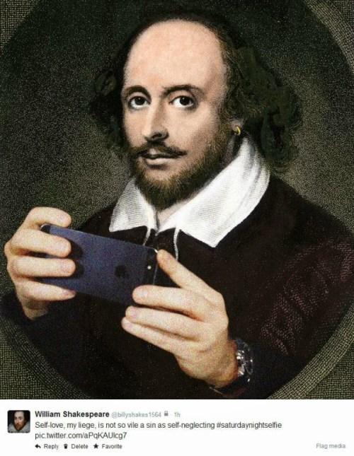 Shakespeare Twitter
