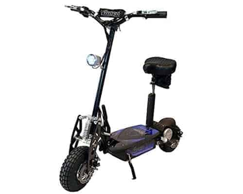Blacksup800-2 - 1000w Scooter