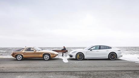 Soulmates: The Porsche 928 and a Panamera