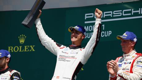 PMSC: Porsche Junior Preining wins in Budapest