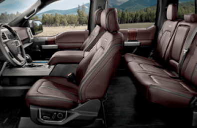 F-150 right-front-passenger bucket seats with energy lumbar
