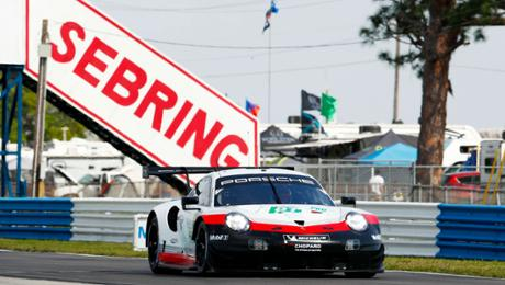 Major continuation exam for Porsche during Sebring