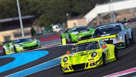 Porsche 911 GT3 R finishes on tenth during six-hour race
