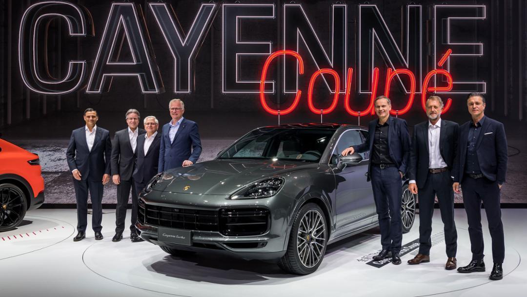 Executive Board of Porsche AG, Cayenne Turbo Coupé, Auto Shanghai, 2019, Porsche AG