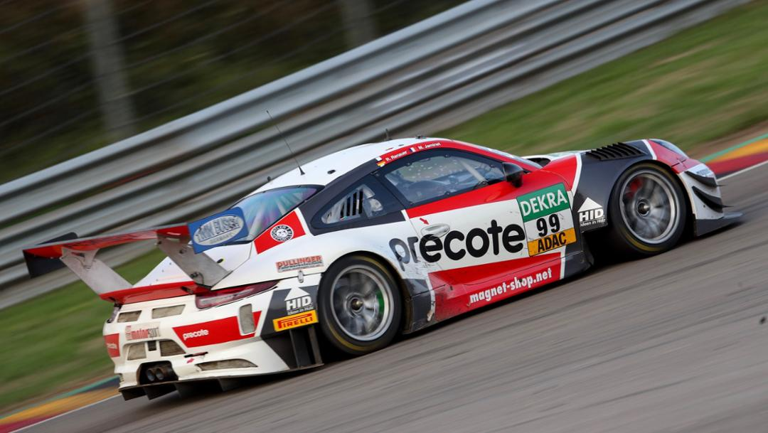 911 GT3 R, ADAC GT Masters, competition 11, Sachsenring, 2018, Porsche AG